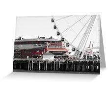 Seattle Great Wheel Greeting Card