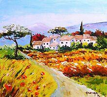 Village of Provence by Grange Brigitte