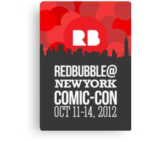 Official RB/NYCC Show Poster Challenge Canvas Print