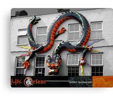 食肆在倫敦 RESTAURANT IN LONDON 食肆在倫敦 Canvas Print