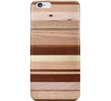Wood Board Composition iPhone Case/Skin