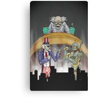 Mad Science Canvas Print