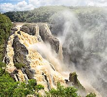 Barron Falls after a cyclone by hereswendy