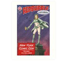 Redbubble at New York Comic Con 2012 Art Print