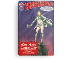 Redbubble at New York Comic Con 2012 Metal Print