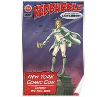 Redbubble at New York Comic Con 2012 Poster