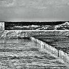 Newcastle Ocean Baths by Andrew Woodman