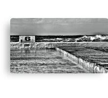 Newcastle Ocean Baths Canvas Print
