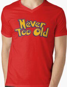 Never Too Old to Catch 'em All! Mens V-Neck T-Shirt