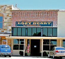 Lazy Heart Grill in Saint Jo, Texas by aprilann