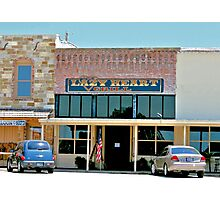 Lazy Heart Grill in Saint Jo, Texas Photographic Print