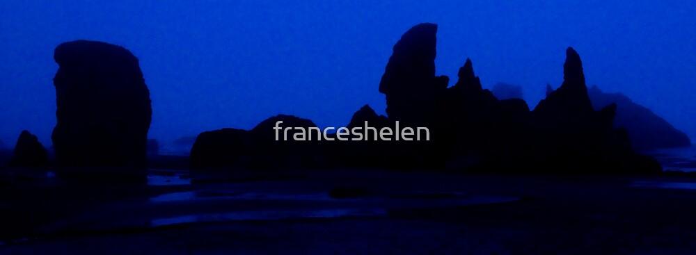 Rock Formation, Bandon, Oregon by franceshelen
