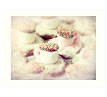 little teacups Art Print