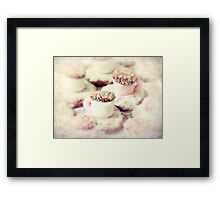 little teacups Framed Print