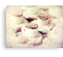 little teacups Canvas Print