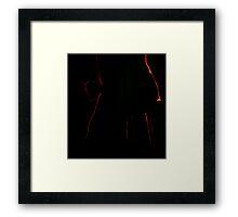 Tron Fish Framed Print