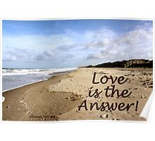 Someone to Love Is the Answer Poster