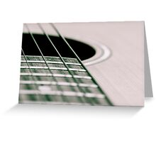 Dont Forget Your Strings Greeting Card
