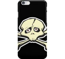 Skull with Crossbones iPhone Case/Skin