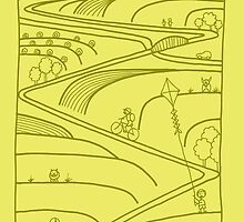 Pengaston TransPennine Trail by springwoodbooks