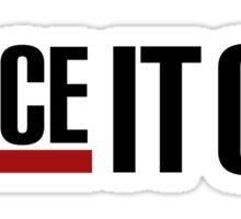 Dance It Out - Black 2.0 Sticker