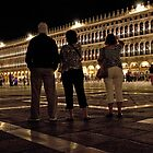 Dazzling Night In Piazza San Marco by phil decocco