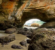 Cave at Newport, Oregon by franceshelen