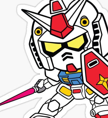 Mobile Suit Gundam - RX-78-2 Sticker