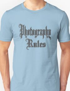 photography rules Unisex T-Shirt