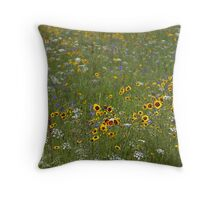English Meadow # 4 Throw Pillow