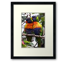 Right There Framed Print