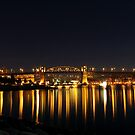 Magical Burrard Bridge by LinneaJean