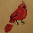 Cardinal by Jenji
