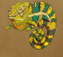 Panther Chameleon by Jenji