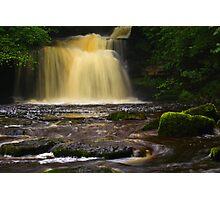 Cauldron Falls, 2 Walden Beck, North England  Photographic Print