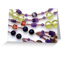 Beads #1 Greeting Card
