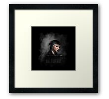 Black Widow Ashe Framed Print