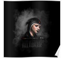 Black Widow Ashe Poster