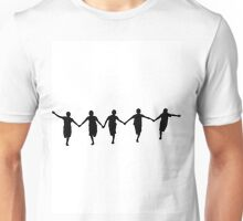Running Happy Children Unisex T-Shirt