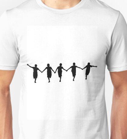 Running Happy Children Unisex T-Shirt