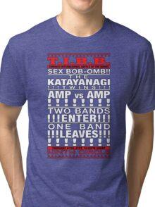 T.I.B.B!!! SEX BOB-OMB!! Vs!!! THE KATAYANAGI TWINS!!!!!! Tri-blend T-Shirt