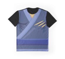 Garb of the Adept Ninja (Blue Belt) Graphic T-Shirt