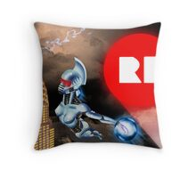 NYCC 2012 contest poster Throw Pillow