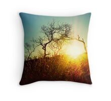 Here comes the sun..... Throw Pillow