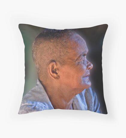 Cambodian Woman Throw Pillow