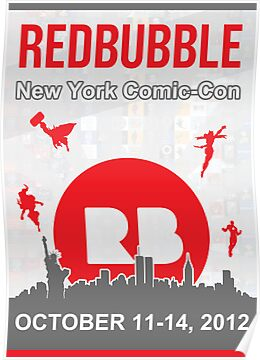 Redbubble @ New York Comic Con by Teevolution