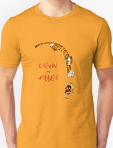 calvin and hobbes jump T-Shirt