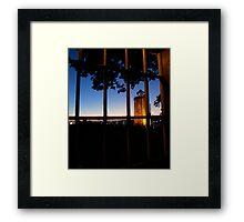 Glastonbury Window Framed Print