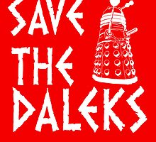 SAVE THE DALEKS by nimbusnought