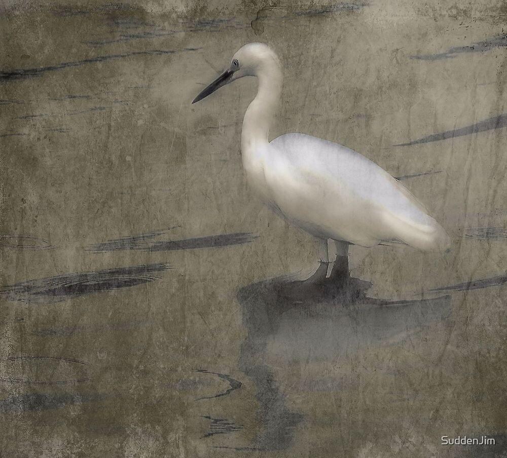 White On Water by SuddenJim